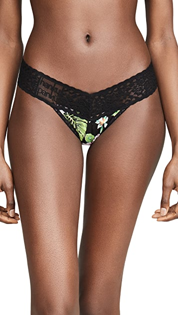 Hanky Panky Tropical Jersey Low Rise Thong