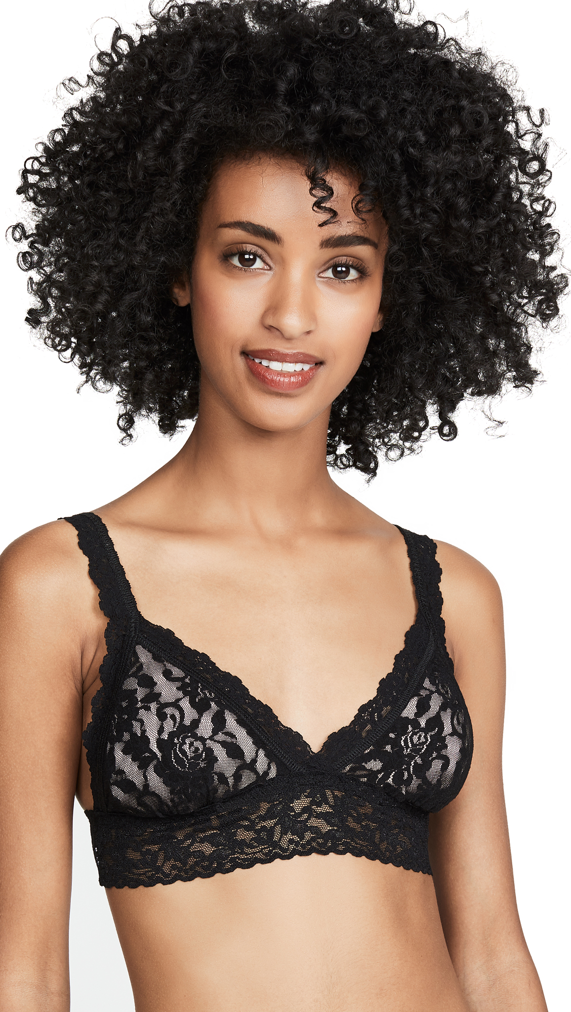 Hanky Panky Signature Lace Padded Crossover Bralette