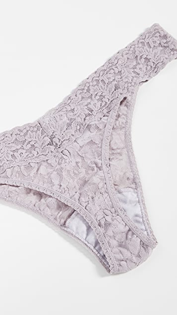 Hanky Panky Plus 5 Pack Signature Lace Thongs