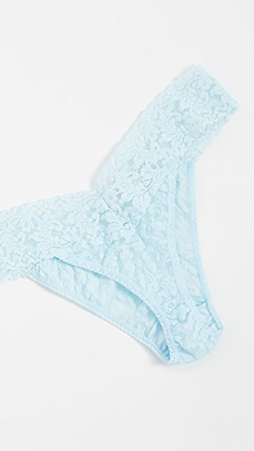 Hanky Panky Signature Lace Original Rise Thong 3 Pack