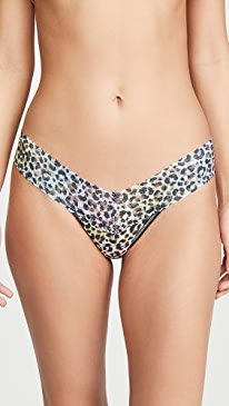 Rainbow Leopard Low Rise Thong