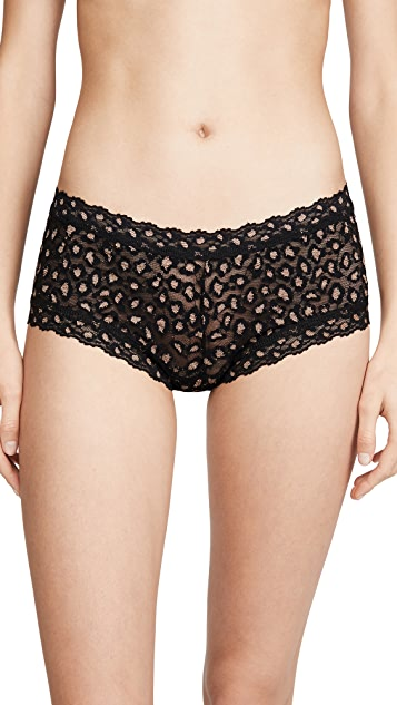 Hanky Panky Cross Dyed Leopard Boy Shorts