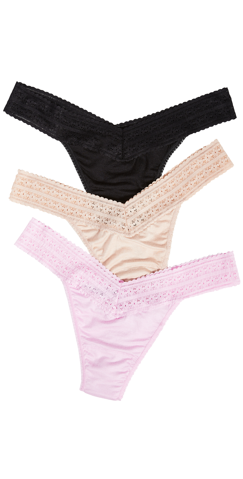 Hanky Panky Dream Original Rise Thongs 3 Pack