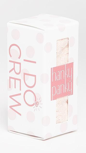 Hanky Panky I Do Crew Original Rise 丁字裤