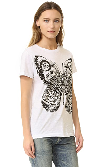 Happiness Butterfly Tee