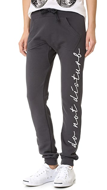 Happiness Do Not Disturb Sweatpants