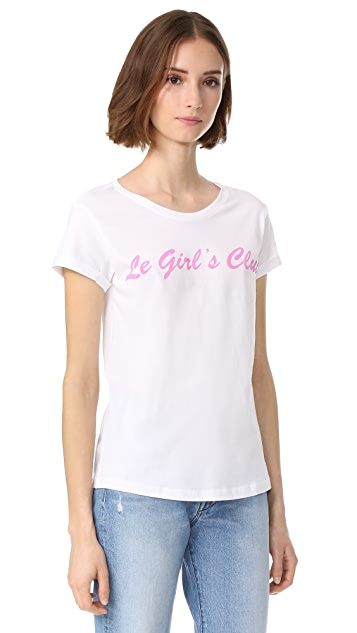 Happiness Le Girl's Club Tee