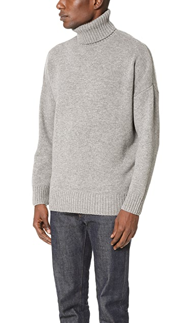 Harmony Windy Turtleneck Knit Sweater