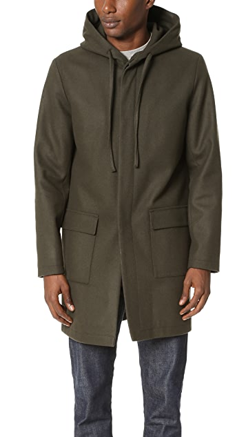 Harmony Mathieu Hooded Coat