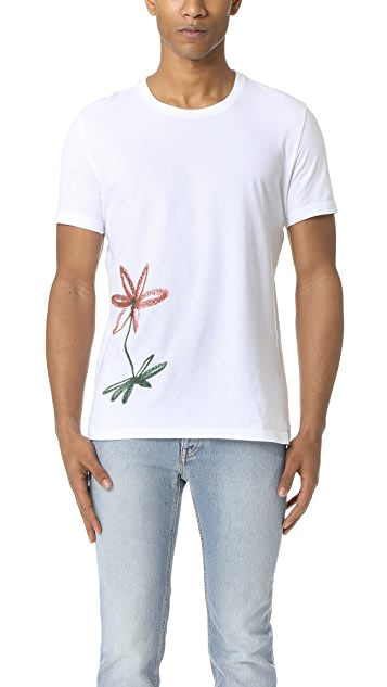 Harmony Tobias Flower Graphic Tee