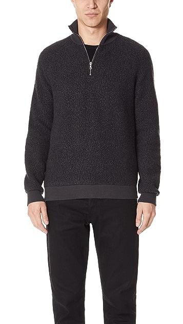 Harmony Sergio Zip Neck Sweater