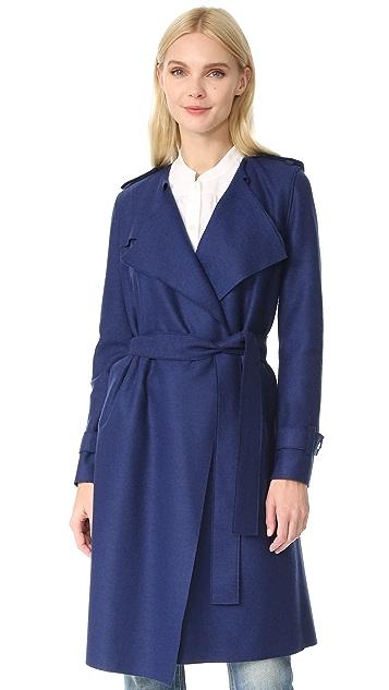 Harris Wharf London Длинное пальто-тренч
