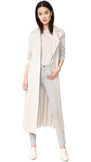 Harris Wharf London Long Duster Coat