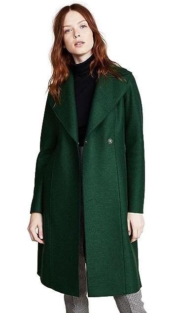 Harris Wharf London Flairy Coat