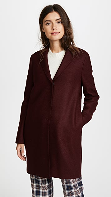 Harris Wharf London Cocoon Coat