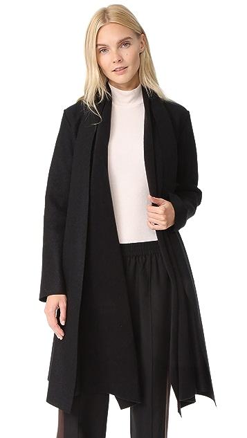 Harris Wharf London Long Blanket Coat
