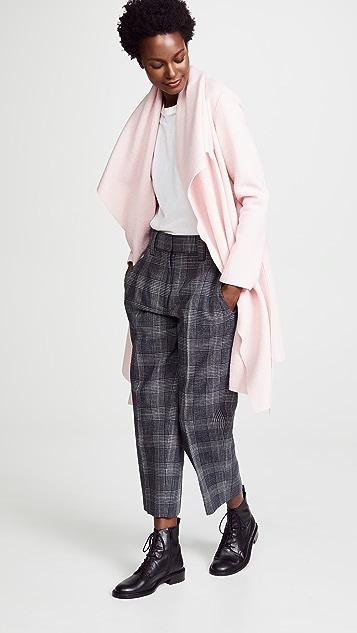 Harris Wharf London Wool Robe Coat