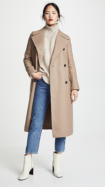 Harris Wharf London Пальто в стиле милитари