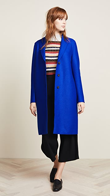 Harris Wharf London Wool Overcoat