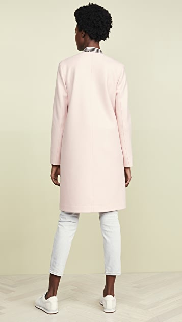 Harris Wharf London Collarless Coat