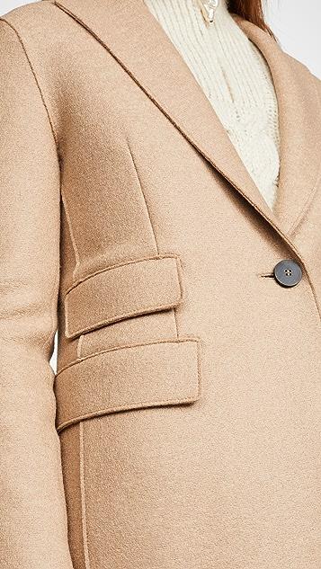 Harris Wharf London Однобортное пальто