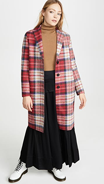 Harris Wharf London 格子外套