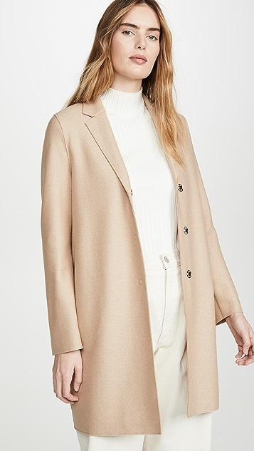 Harris Wharf London 茧形大衣