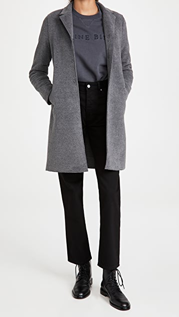 Harris Wharf London Polaire Boxy Coat