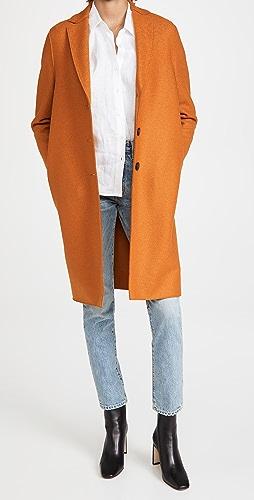 Harris Wharf London - Pressed Wool Overcoat