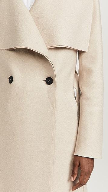 Harris Wharf London Pressed Wool Volcano 大衣