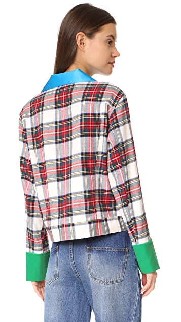 Harvey Faircloth Plaid Shirt
