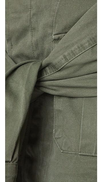 Harvey Faircloth Tie Sleeve Skirt