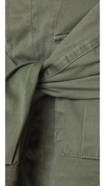 Harvey Faircloth Юбка с завязками в виде рукавов