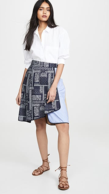Harvey Faircloth Asymmetrical Skirt