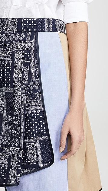 Harvey Faircloth Asymmetrical Skirt