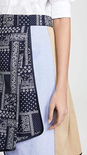 Harvey Faircloth Асимметричная юбка