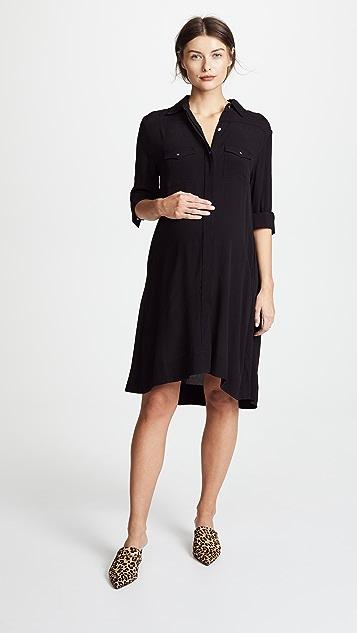HATCH Платье-рубашка