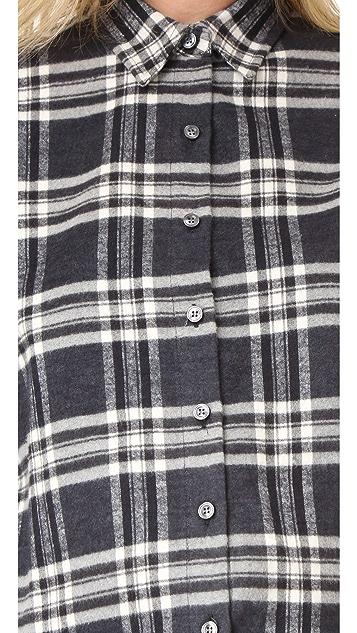 HATCH 法兰绒女式衬衫