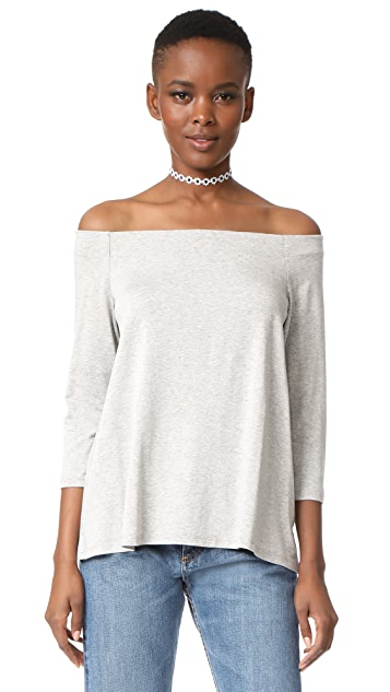 HATCH The Off-Shoulder Top