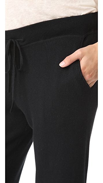 HATCH Ribbed Knit Trousers