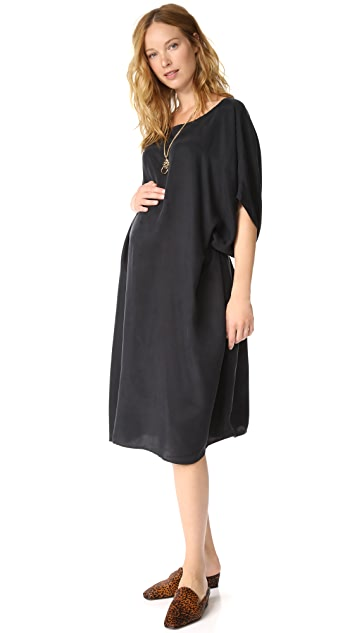 HATCH Sofia Drape Dress