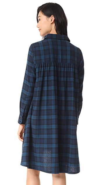 HATCH Maggie Flannel Dress