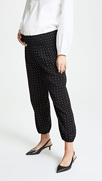 HATCH Smocked Weekend Pants