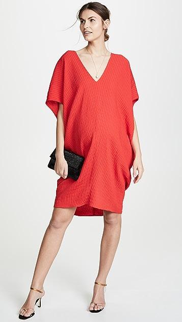 HATCH Платье с напуском