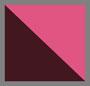 港口红/深红色格子