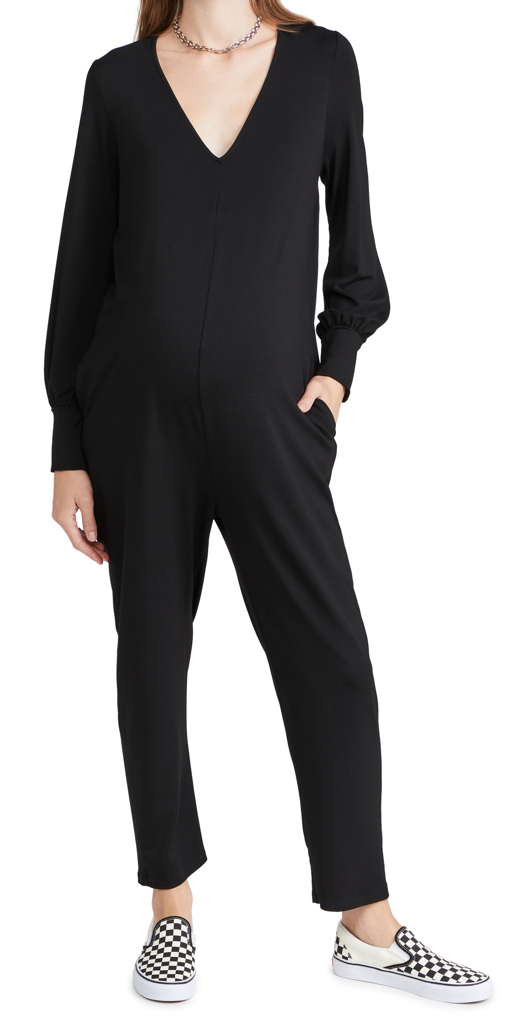 The Uptown Jersey Jumpsuit