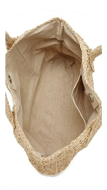 Hat Attack Striped Bag