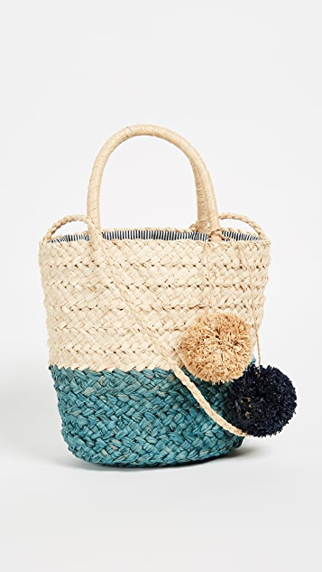 Hat Attack Bi-Color Tote