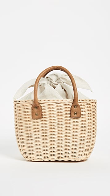 Hat Attack Small Wicker Basket
