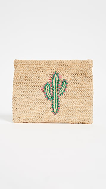 Hat Attack Whimsical Clutch
